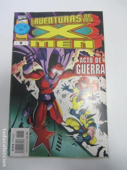 LAS NUEVAS AVENTURAS DE LOS X-MEN - VOL II - Nº 9. COMICS FORUM E11X2 (Tebeos y Comics - Forum - X-Men)