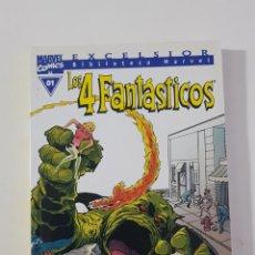 Cómics: MARVEL COMICS - BIBLIOTECA LOS 4 FANTÁSTICOS Nº 01 (EXCELSIOR) FORUM CLÁSICOS FANTASTIC FOUR CUATRO. Lote 162416186