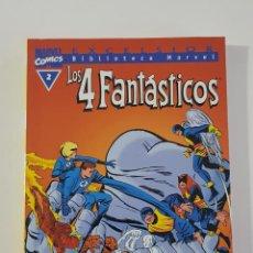 Cómics: MARVEL COMICS - BIBLIOTECA LOS 4 FANTÁSTICOS Nº 2 (EXCELSIOR) FORUM CLÁSICOS FANTASTIC FOUR CUATRO. Lote 162416238