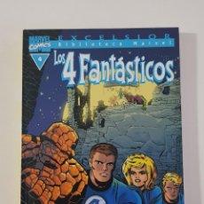 Cómics: MARVEL COMICS - BIBLIOTECA LOS 4 FANTÁSTICOS Nº 4 (EXCELSIOR) FORUM CLÁSICOS FANTASTIC FOUR CUATRO. Lote 162416286