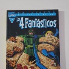 Cómics: MARVEL COMICS - BIBLIOTECA LOS 4 FANTÁSTICOS Nº 7 (EXCELSIOR) FORUM CLÁSICOS FANTASTIC FOUR CUATRO. Lote 162416390