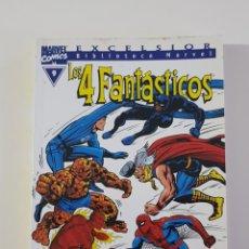 Cómics: MARVEL COMICS - BIBLIOTECA LOS 4 FANTÁSTICOS Nº 9 (EXCELSIOR) FORUM CLÁSICOS FANTASTIC FOUR CUATRO. Lote 162416446