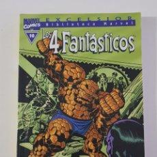 Cómics: MARVEL COMICS - BIBLIOTECA LOS 4 FANTÁSTICOS Nº 10 (EXCELSIOR) FORUM CLÁSICOS FANTASTIC FOUR CUATRO. Lote 162416458