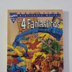 Cómics: MARVEL COMICS - BIBLIOTECA LOS 4 FANTÁSTICOS Nº 12 (EXCELSIOR) FORUM CLÁSICOS FANTASTIC FOUR CUATRO. Lote 162416498