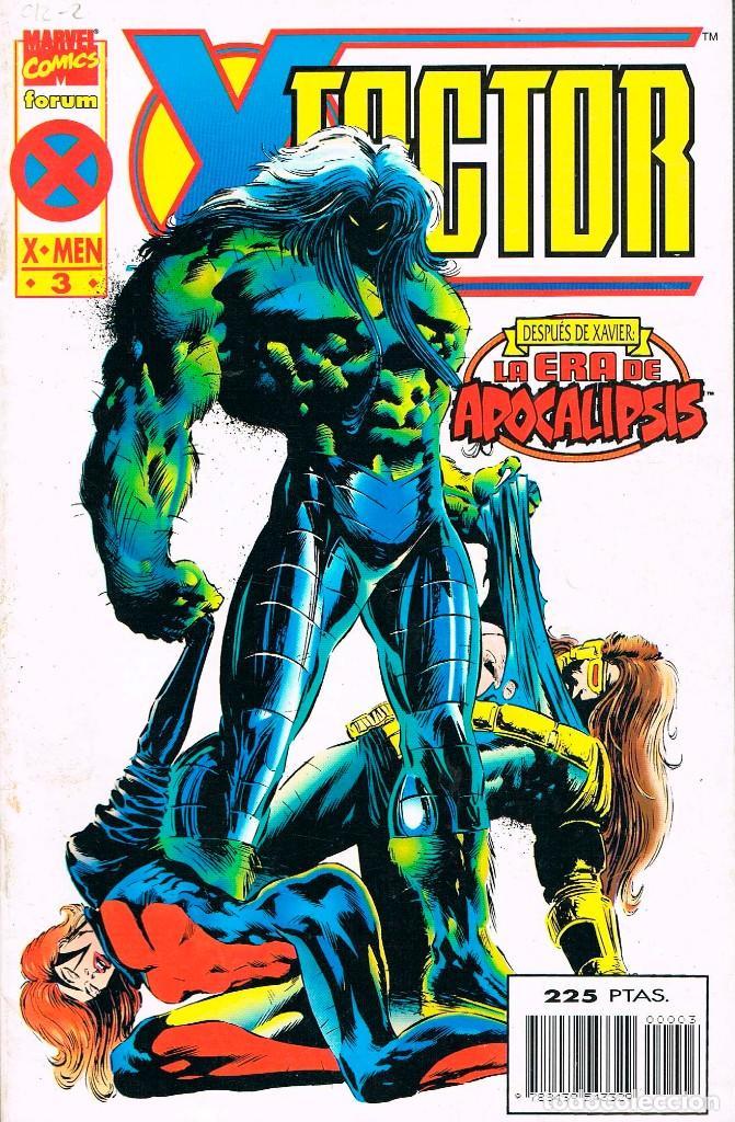 X-FACTOR, (X-MEN) LA ERA DEL APOCALIPSIS Nº 3 (Tebeos y Comics - Forum - X-Men)