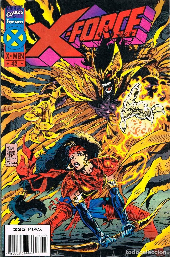 X-FORCE, (X-MEN) Nº 42 (Tebeos y Comics - Forum - X-Men)