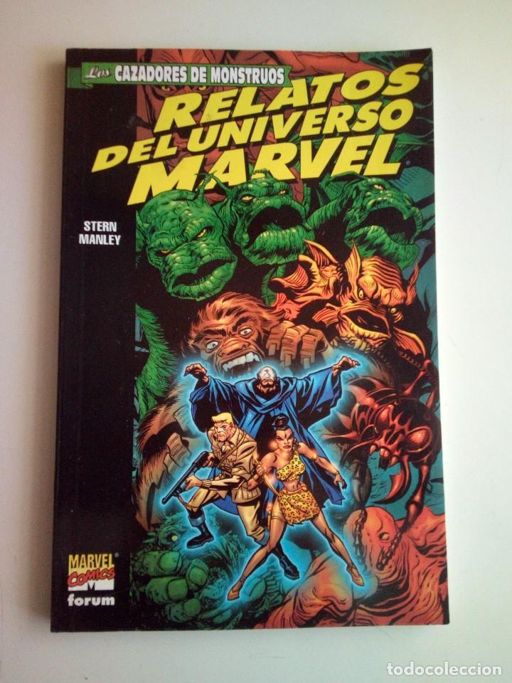 RELATOS DEL UNIVERSO MARVEL (Tebeos y Comics - Forum - Prestiges y Tomos)