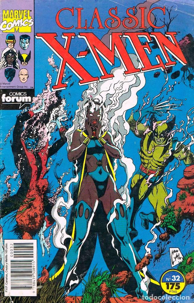CLASSIC X-MEN Nº 32 (Tebeos y Comics - Forum - X-Men)
