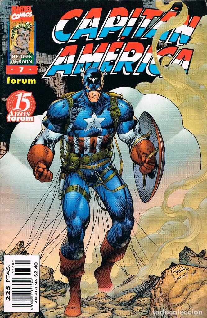 CAPITAN AMERICA Nº 7 (Tebeos y Comics - Forum - Capitán América)