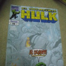 Cómics: EL INCREIBLE HULK N° 11 - ED. FORUM. Lote 162494182