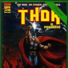 Cómics: THOR EL PODEROSO - EXCELSIOR - FORUM.. Lote 162512038