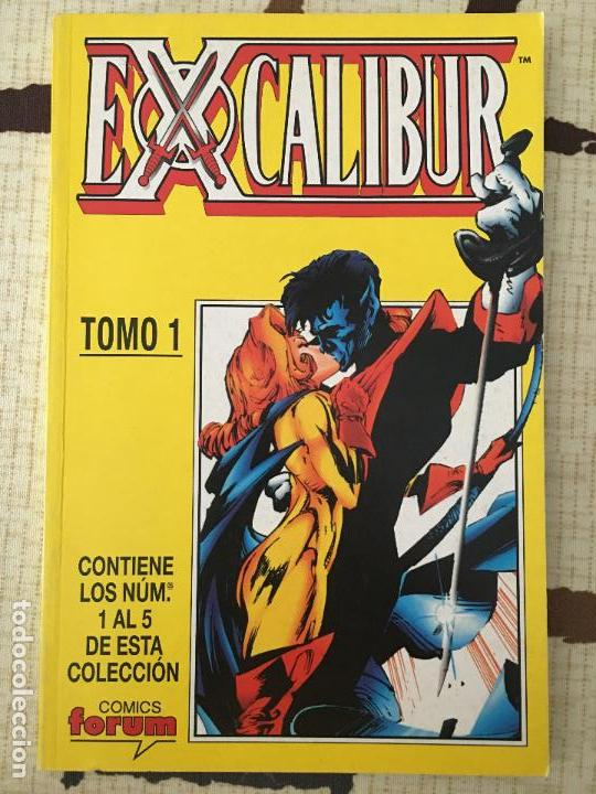 EXCALIBUR. TOMO 1º RECOPILATORIO. LOS 5 PRIMEROS NUMEROS. GUION DE WARREN ELLIS. (Tebeos y Comics - Forum - Retapados)