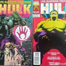 Comics: LAS GUERRAS TROYANAS HULK 1 Y 2. Lote 162774178