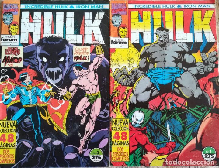 INCREIBLE HULK & IRON MAN 1,3 (Tebeos y Comics - Forum - Hulk)