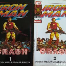 Cómics: IRON MAN EPIC COMICS 7,8. Lote 162776978