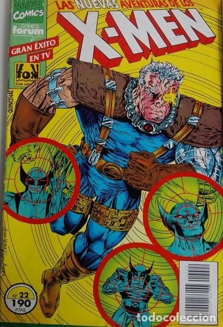 Cómics: Las nuevas aventuras de los X MEN, Nºs 22, 23, 24, 25 y 26 Comics Forum - Foto 2 - 162824630