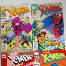 Cómics: LAS NUEVAS AVENTURAS DE LOS X MEN, NºS 2, 3, 4 Y 5 COMICS FORUM. Lote 162831054