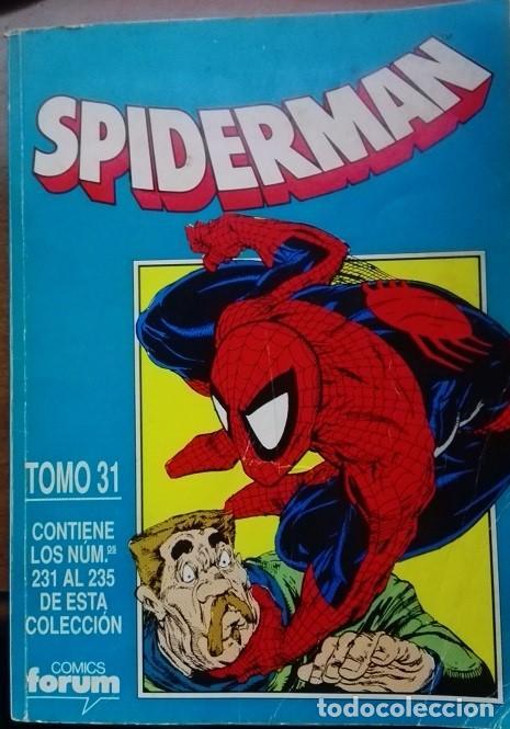 SPIDERMAN FORUM, TOMO 31, NS. 231 A 235 (Tebeos y Comics - Forum - Retapados)