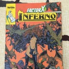 Cómics: INFERNO. FACTOR X # 18. PORTADA A DOBLE PAGINA. POSIBILIDAD DE AGRUPAR LOTES.. Lote 27408137