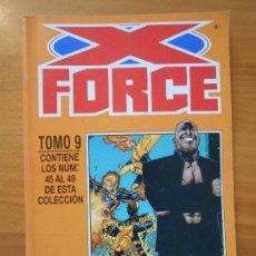 Cómics: X-FORCE VOLUMEN 2 TOMO 9 - Nº 45 A 49 EN UN TOMO RETAPADO - FORUM (D). Lote 163013566