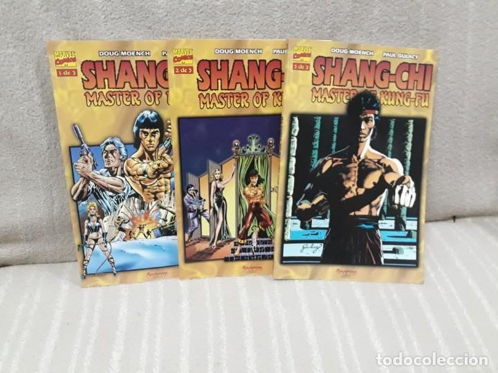 SHANG-CHI MASTER OF KUNG-FU - ¡¡COMPLETA!! - DOUG MOENCH / PAUL GULACY - FORUM (Tebeos y Comics - Forum - Prestiges y Tomos)