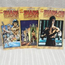 Cómics: SHANG-CHI MASTER OF KUNG-FU - ¡¡COMPLETA!! - DOUG MOENCH / PAUL GULACY - FORUM. Lote 163039402