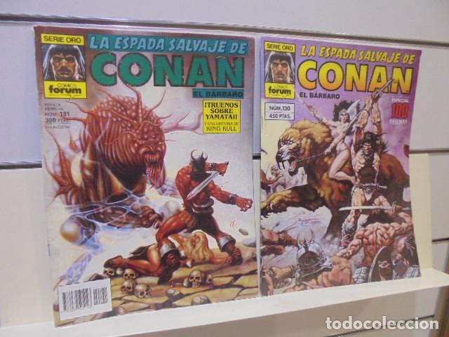 LA ESPADA SALVAJE DE CONAN Nº 130 Y 131 SAGA REINA BRUJA DE YAMATAI - FORUM - OFERTA (Tebeos y Comics - Forum - Otros Forum)