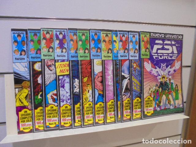 PSI FORCE COMPLETA 12 NUMS. FORUM (Tebeos y Comics - Forum - Otros Forum)