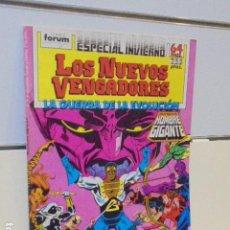 Cómics: LOS NUEVOS VENGADORES ESPECIAL INVIERNO AÑO 1988 - FORUM. Lote 163398094