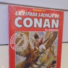 Cómics: LA ESPADA SALVAJE DE CONAN TOMO ROJO Nº 17 - FORUM OFERTA. Lote 163465674