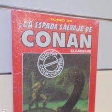 Cómics: LA ESPADA SALVAJE DE CONAN TOMO ROJO Nº 22 - FORUM OFERTA. Lote 163465778