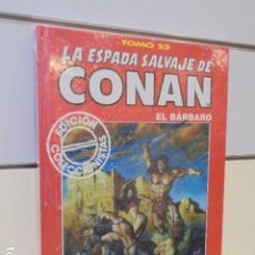Cómics: LA ESPADA SALVAJE DE CONAN TOMO ROJO Nº 23 - FORUM OFERTA. Lote 163465806