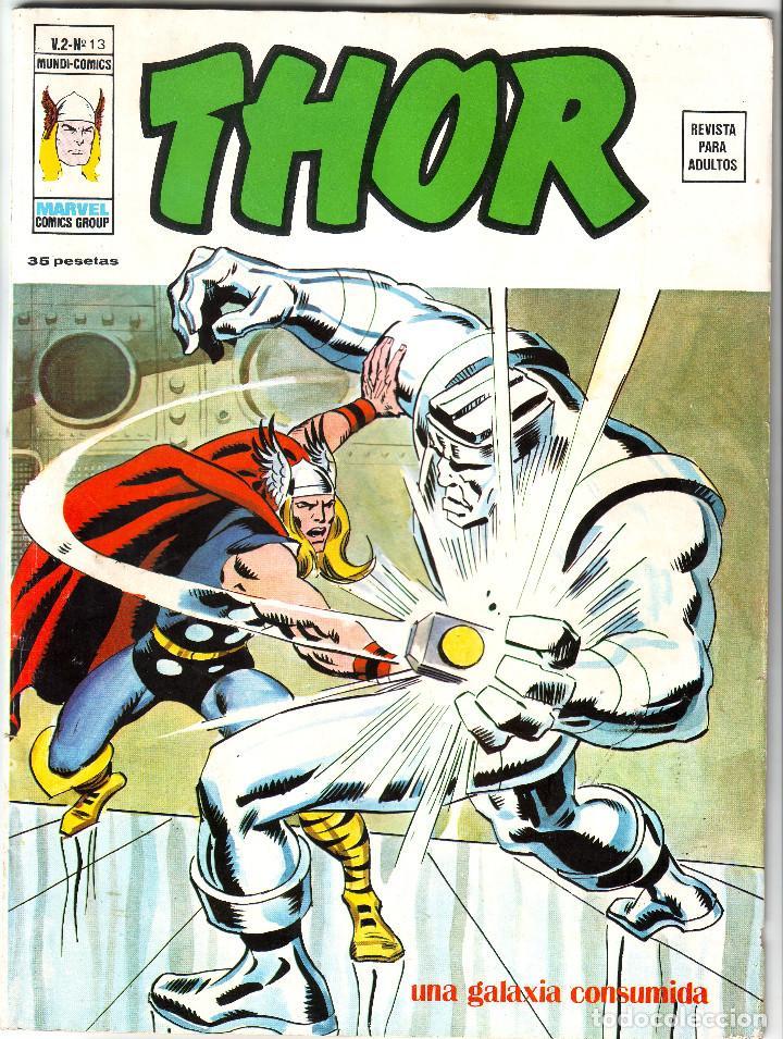 THOR UNA GALAXIA CONSUMIDA DE MARVEL COMICS GROUP Nº 13 (Tebeos y Comics - Forum - Thor)