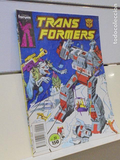 Cómics: TRANSFORMERS Nº 51 - FORUM - OCASION - Foto 1 - 163506786
