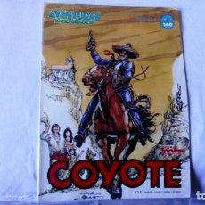 Cómics: EL COYOTE Nº 1 , AVENTURAS BIZARRAS. Lote 163557666