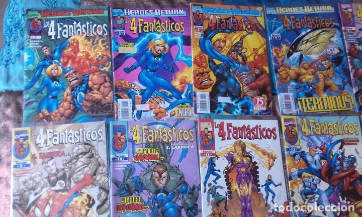 COLECCIÓN COMPLETA DE LOS 4 FANTÁSTICOS VOLUMEN 3, HEROES RETURN (Tebeos y Comics - Forum - 4 Fantásticos)