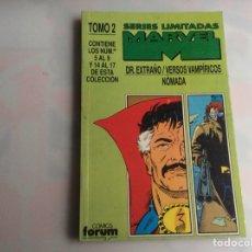 Cómics: SERIES LIMITADAS MARVEL TOMO 2, DR. EXTRAÑO, VERSOS VAMPÌRICOS, NÓMADA. Lote 34467451