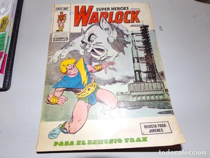WARLOCK PASA EL DEMONIO TRAX NUMERO 5 (Tebeos y Comics - Forum - Otros Forum)