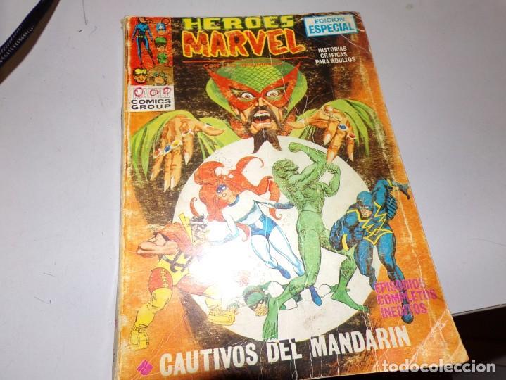 HEROES MARVEL CAUTIVOS DEL MANDARIN NUMERO 2 (Tebeos y Comics - Forum - Otros Forum)