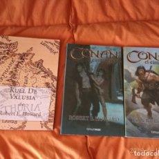Cómics: CONAN EL CIMERIO 5 Y 6 Y KULL DE VALUSIA. Lote 164457950