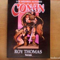 Cómics: CONAN. LOS MEJORES AUTORES. ROY THOMAS Nº 1 . Lote 164578162