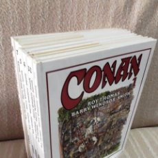 Cómics: CONAN DE BARRY WINDSOR-SMITH - 8 TOMOS ¡¡COMPLETA!! - FORUM. Lote 164581950