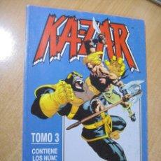 Cómics: KA-ZAR - TOMO 3 - Nº 11 AL 15- ED. FORUM. Lote 164606094