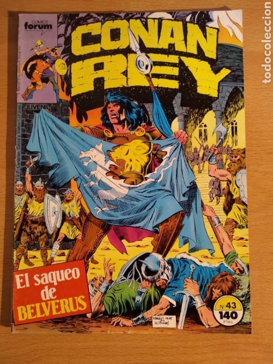 CONAN REY # 43 FORUM (Tebeos y Comics - Forum - Conan)