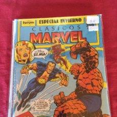 Fumetti: FORUM CLASICOS MARVEL NUMERO ESPECIAL INVIERNO BUEN ESTADO. Lote 164672738