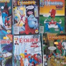 Cómics: EXCALIBUR, LOTE DE 31 NÚMEROS. Lote 164902330