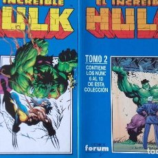 Cómics: HULK VOL.3 , 2 TOMOS RETAPADOS. Lote 164933002