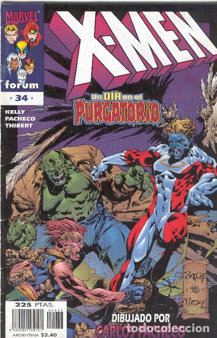 X MEN VOLUMEN 2. Nº 34 (Tebeos y Comics - Forum - X-Men)