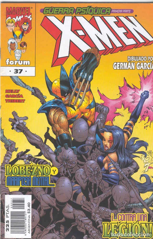 X MEN VOLUMEN 2. Nº 37 (Tebeos y Comics - Forum - X-Men)