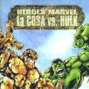 Cómics: HÉROES MARVEL LA COSA VS. HULK Nº 2 EDITORIAL PLANETA-DEAGOSTINI. Lote 165292294